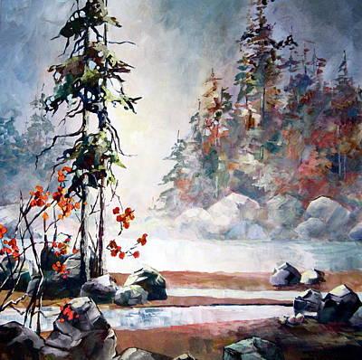 Yvette's Dream Art Print by Bonny Roberts