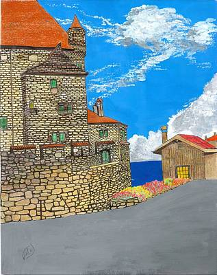 Painting - Yvoir by Joe Dagher
