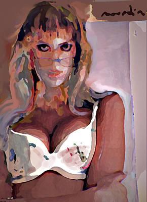 Yvonne Art Print by Noredin Morgan