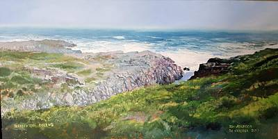 Painting - Yzerfontein Oggend by Tim Johnson
