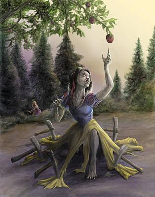 Z-fairest Princess Art Print