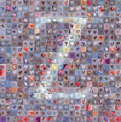 Digital Art - Z In Confetti by Boy Sees Hearts