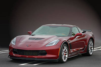 Photograph - Z06 Vette At Cbad by Bill Dutting
