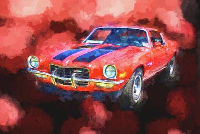 Painting - Z28 by Ches Black