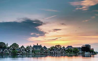 Photograph - Zaans Sunset by Framing Places