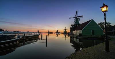Nederland Photograph - Zaanse Schans, Holland by Reinier Snijders