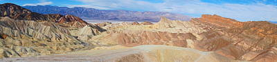 Photograph - Zabriskie Point Panoramic by Tranquil Light Photography