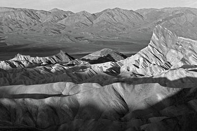 Photograph - Zabriskie Monochrome by Inge Riis McDonald