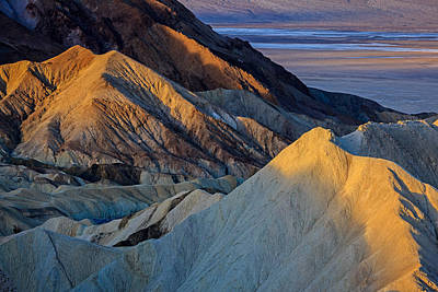 Photograph - Zabriskie Point 2014 by Ralph Nordstrom
