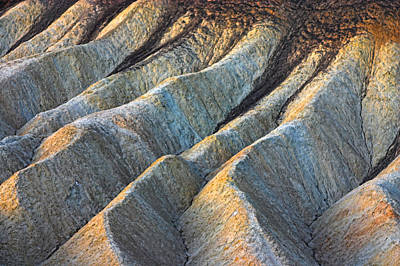 Photograph - Zabriskie Point 4 2006 by Ralph Nordstrom