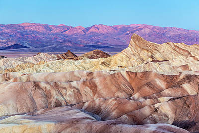 Photograph - Zabriskie Point At Dusk by Pierre Leclerc Photography