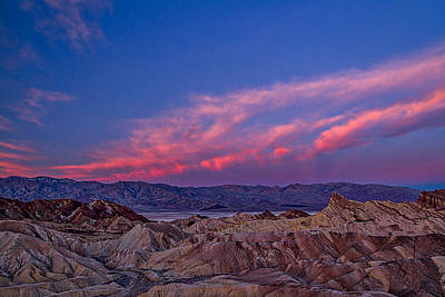 Photograph - Zabriskie Point Dawn - Death Valley by Stuart Litoff