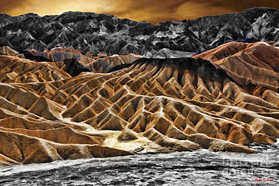 Photograph - Zabriskie Point Death Valley by Blake Richards