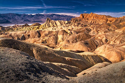 Photograph - Zabriskie Point - Death Valley by Stuart Litoff