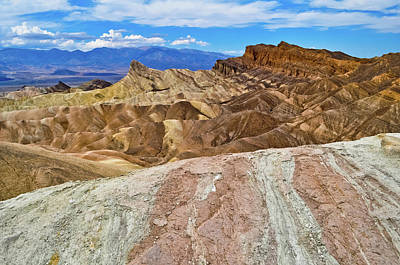 Photograph - Zabriskie Point Desert by Kyle Hanson