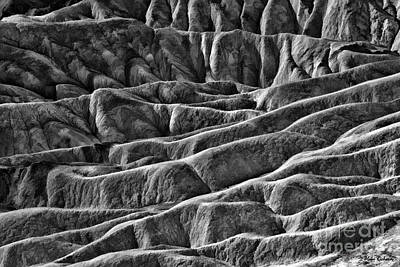 Photograph - Zabriskie Point Designs Death Valley by Blake Richards