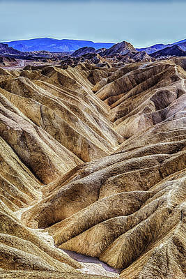Photograph - Zabriskie Point Drama by Janis Knight