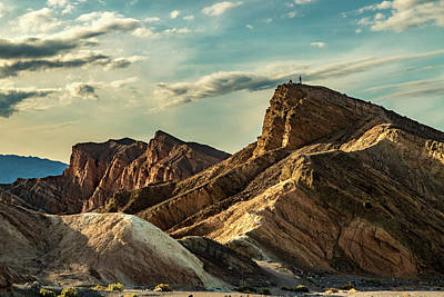 Photograph - Zabriskie Point II by Bill Gallagher