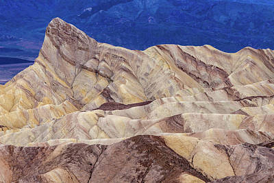 Photograph - Zabriskie Point IIi by Bill Gallagher