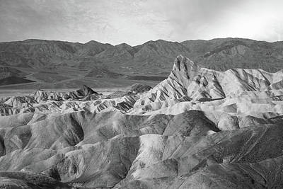 Zabriskie Point Landscape Art Print