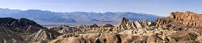 Photograph - Zabriskie Point Panorama by Mike Irwin