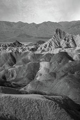 Zabriskie Point Portrait Art Print
