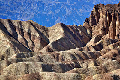 Photograph - Zabriskie Point View - Death Valley by Stuart Litoff