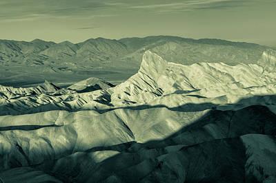 Photograph - Zabriskie Split Tone by Jonathan Nguyen