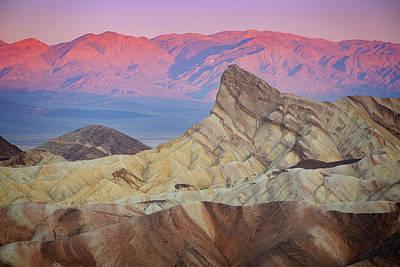 Photograph - Zabriskie Sunrise Iv by Ricky Barnard