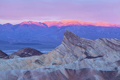 Photograph - Zabriskie Sunrise by Jonathan Nguyen