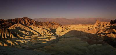 Photograph - Zabriskie Sunrise Panorama II by Ricky Barnard