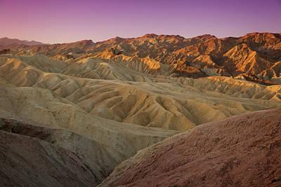 Photograph - Zabriskie Sunrise Xi by Ricky Barnard