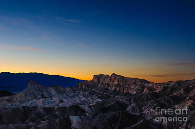 Places Photograph - Zabriskie Sunset by Charles Dobbs