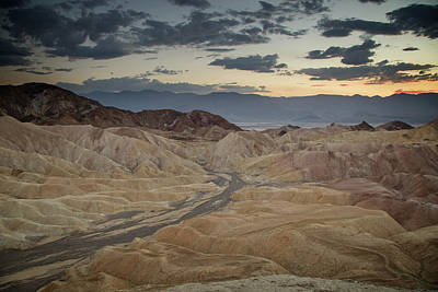 Photograph - Zabriskie Sunset II by Ricky Barnard