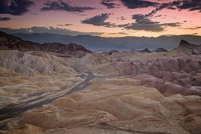 Photograph - Zabriskie Sunset IIi by Ricky Barnard