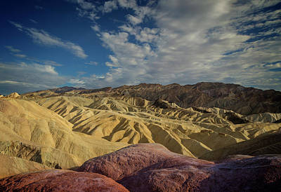 Photograph - Zabriskie Sunset Iv by Ricky Barnard
