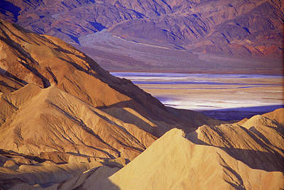Photograph - Zabriskie View by John Farley