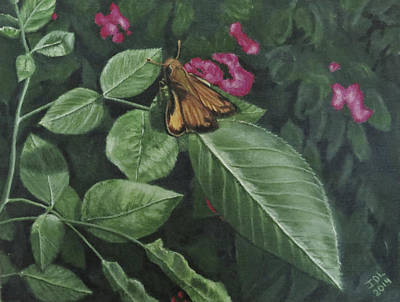 Jodi Diliberto Paintings - Zabulon Skipper by Jodi DiLiberto