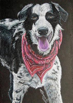 Zack Art Print by Beverly Fuqua