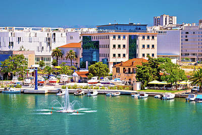 Photograph - Zadar Waterfront And Sea Fountain View by Brch Photography