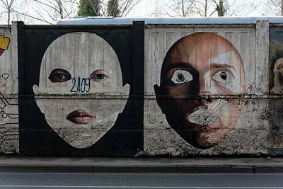 Photograph - Zagreb Graffiti Wall by Steven Richman