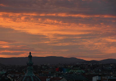 Photograph - Zagreb Sunset by Steven Richman