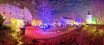 Photograph - Zagreb Upper Town Christmas Market  by Brch Photography