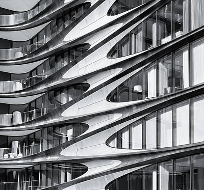 Photograph - zaha hadid Architecture in NYC by Michael Hope