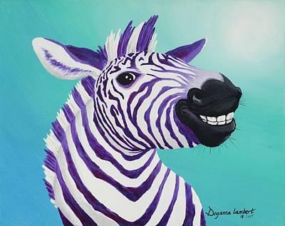 Wall Art - Painting - Zahara by Deyanna Lambert