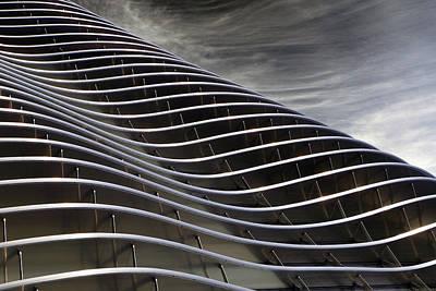 Steel Fabrication Photograph - Zahner Facade by Christopher McKenzie