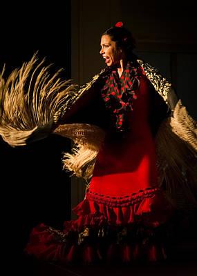 Dance Photograph - Zaira Santos 2 by Elzbieta Petryka
