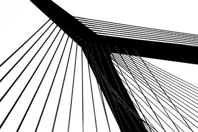 Photograph - Zakim Abstract by Mary Bedy