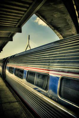 Zakim Bridge Photograph - Zakim by Andrew Kubica
