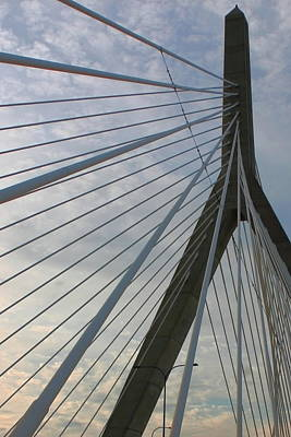 Photograph - Zakim by Jeff Heimlich